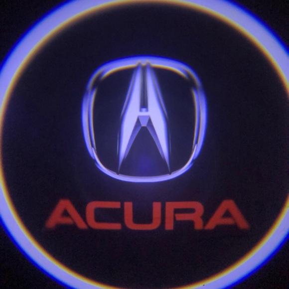 ACURA Other Cars Logo Wireless Door Lights Led Shadow Poshmark - Acura symbol for car